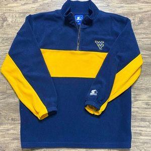 West Virginia University WVU STARTER Fleece Jacket
